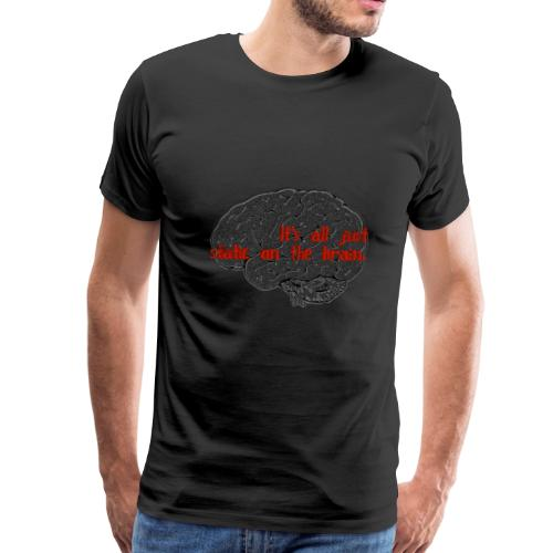 Static Brain - Men's Premium T-Shirt