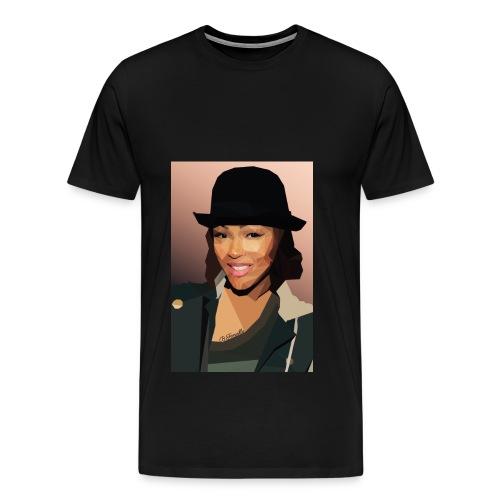 Meagan Good - Men's Premium T-Shirt