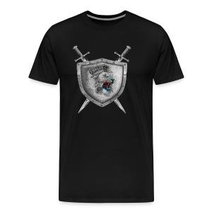 Lion Head Crest - Men's Premium T-Shirt