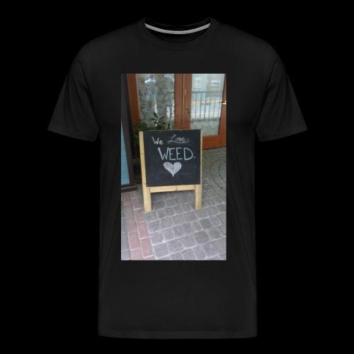 Marijuana lovers - Men's Premium T-Shirt