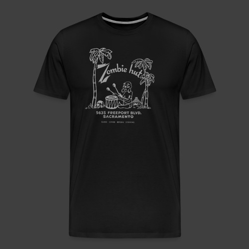 ZOMBIE HUT - Sacramento - Men's Premium T-Shirt