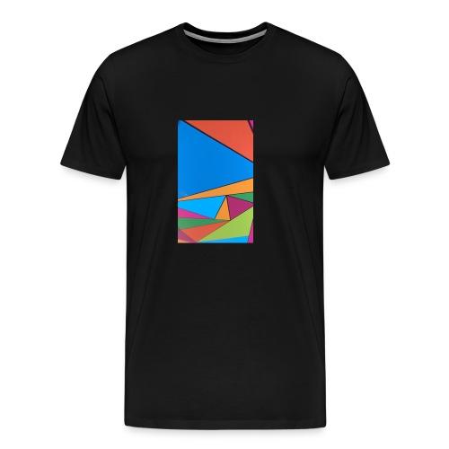 Colorful Geometry - Men's Premium T-Shirt