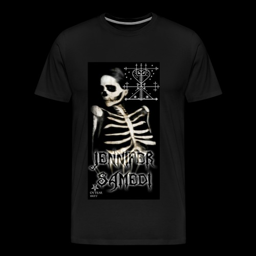 Jennifer Samedi model - Men's Premium T-Shirt