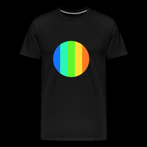 rainbow circle - Men's Premium T-Shirt