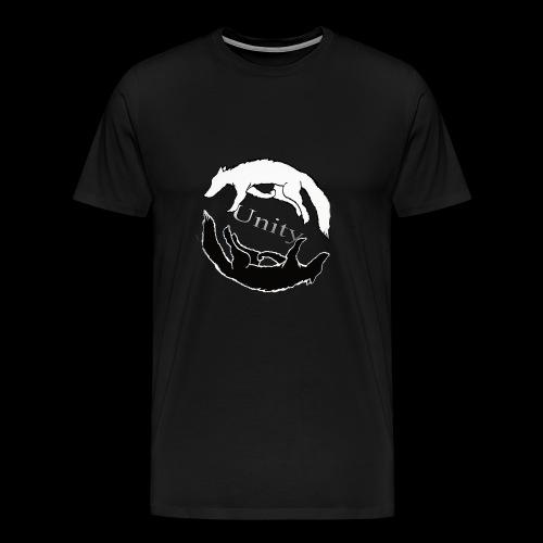 Wolf Circle - Men's Premium T-Shirt
