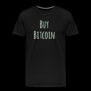 Buy Bitcoin - Men's Premium T-Shirt