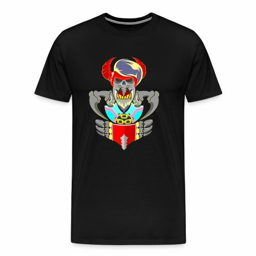 King in Hell - Men's Premium T-Shirt