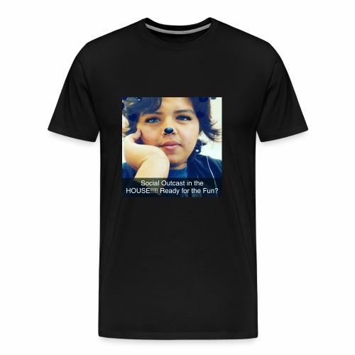 Social Outcast Art! - Men's Premium T-Shirt