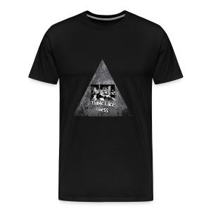 Think Like Chess Logo - Men's Premium T-Shirt