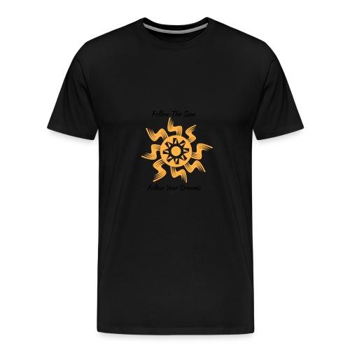 Follow The Sun - Men's Premium T-Shirt