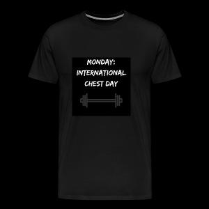 International chest day - Men's Premium T-Shirt
