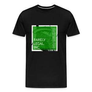 Smoking Man #1 - Men's Premium T-Shirt