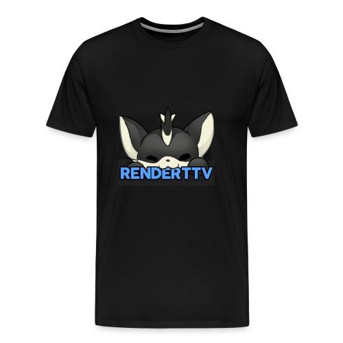 renderttv avatar - Men's Premium T-Shirt