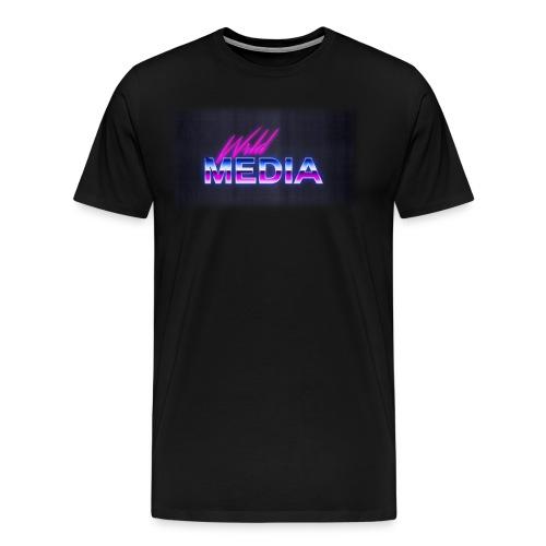 wlrd media 80s Aesthetic - Men's Premium T-Shirt
