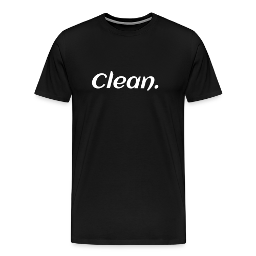 Clean T-shirt - Men's Premium T-Shirt