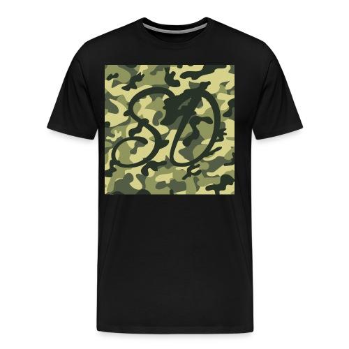 Camo SD Logo - Men's Premium T-Shirt