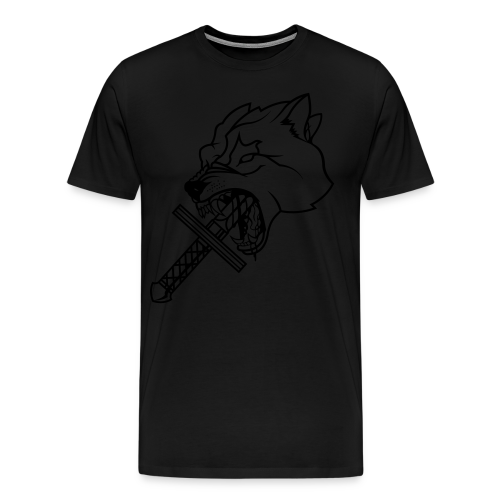 Heretic Hoard Wolf - Men's Premium T-Shirt