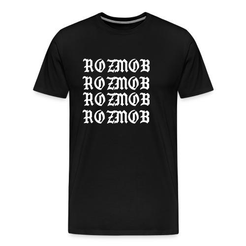 ROZMOB DESIGNER TYPE - Men's Premium T-Shirt
