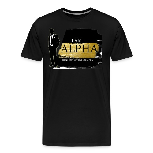 Alpha shirt - Men's Premium T-Shirt
