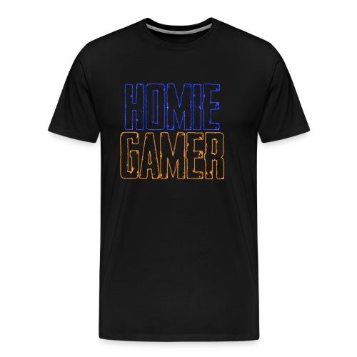 Homie Gamer Clothing (Neon Style) - Men's Premium T-Shirt