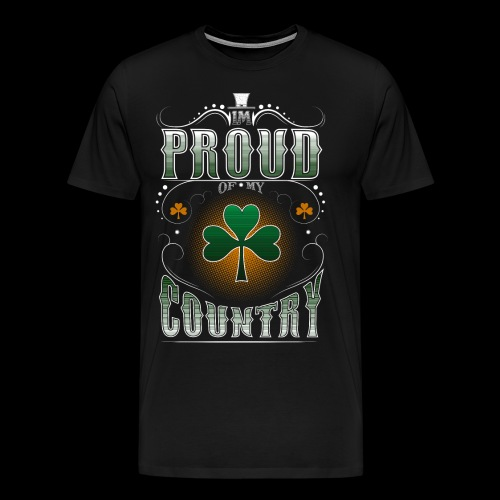 I'm Proud of My Country - Men's Premium T-Shirt