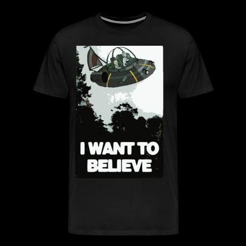 I Want To Believe - Men's Premium T-Shirt