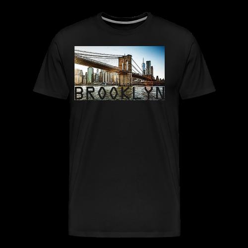 BROOKLYN - Men's Premium T-Shirt
