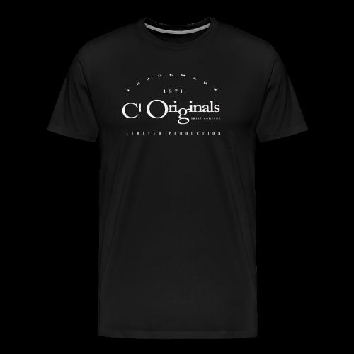 CL ORIGINALS LIMITED PRODUCTION LOGO - Men's Premium T-Shirt