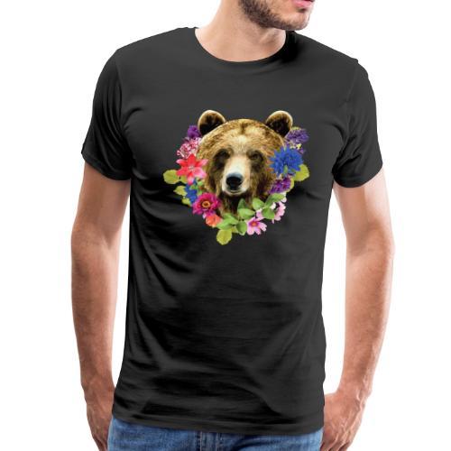 bearrFlowers - Men's Premium T-Shirt