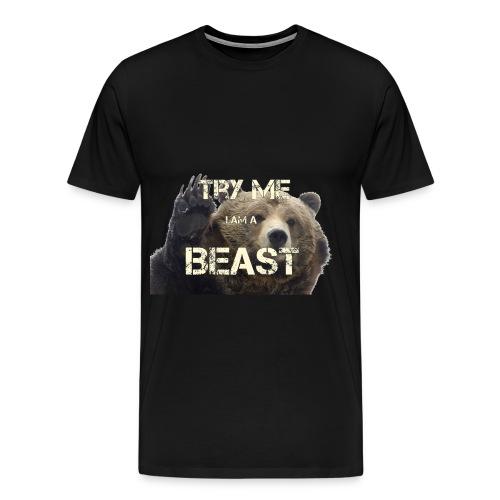 TRY ME BEAST - Men's Premium T-Shirt