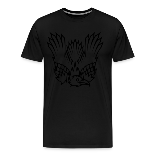 Heretic Hoard Raven - Men's Premium T-Shirt