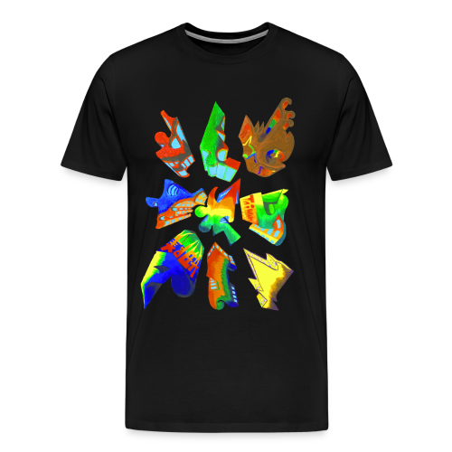 Abstract by Gumdrop - Men's Premium T-Shirt
