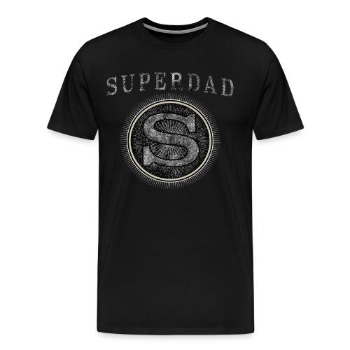 Father´s Day T-Shirt - Superdad - Men's Premium T-Shirt