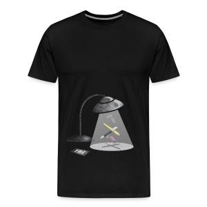 Desktop Abduction - Men's Premium T-Shirt