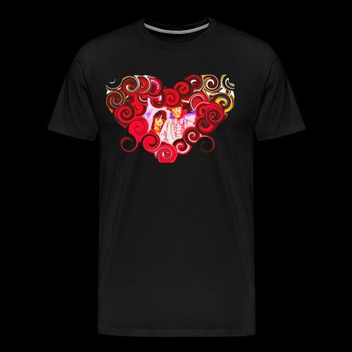 Custom heart design - Men's Premium T-Shirt