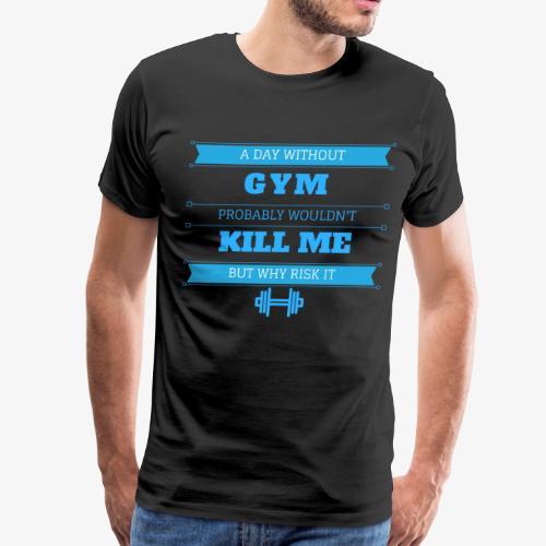 Daily workout shirt - Men's Premium T-Shirt