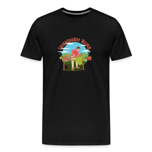 Sustainable Hemp - Men's Premium T-Shirt