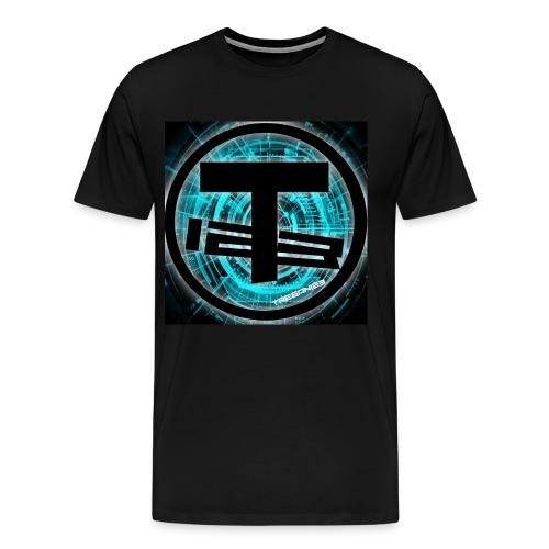 Teegan123 Logo - Men's Premium T-Shirt