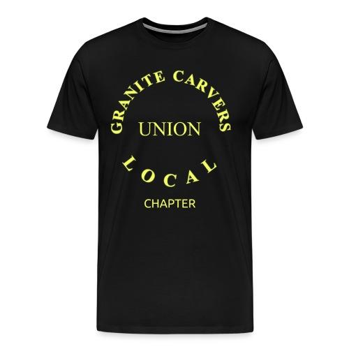 Granite Carvers Union - Men's Premium T-Shirt