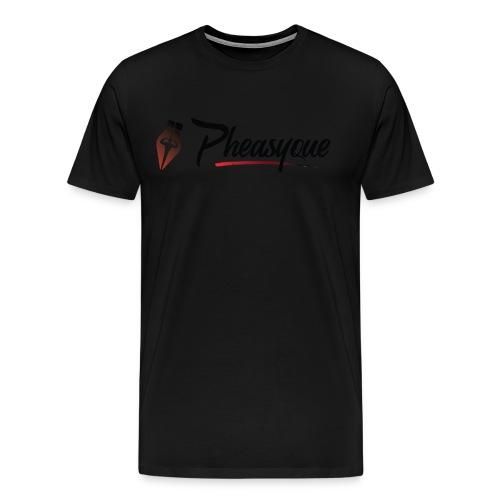 Original Pheasyque Logo - Men's Premium T-Shirt