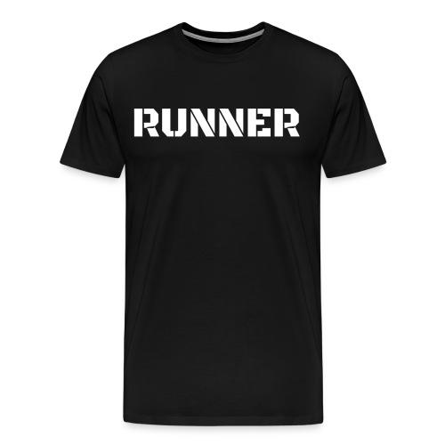 Stealth Runner Shirt - Men's Premium T-Shirt
