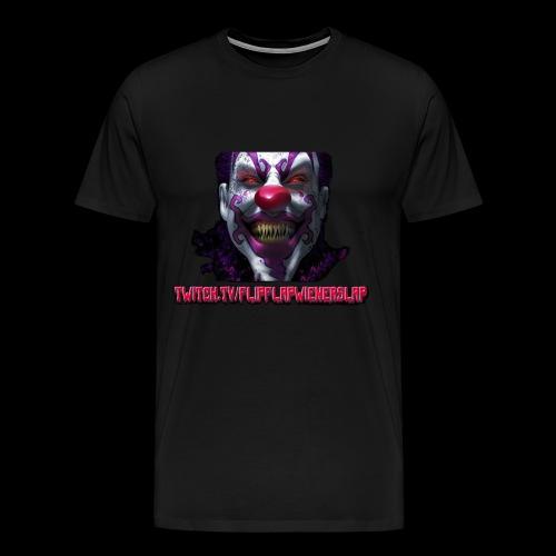 twitch.tv/FlipFlapWienerSlap Design - Men's Premium T-Shirt
