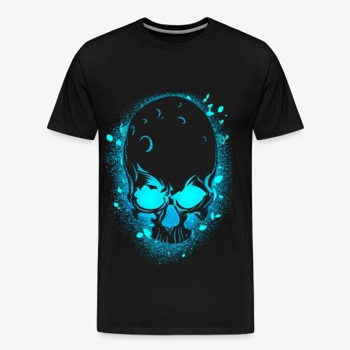 GLOW SKULL NEW - Men's Premium T-Shirt
