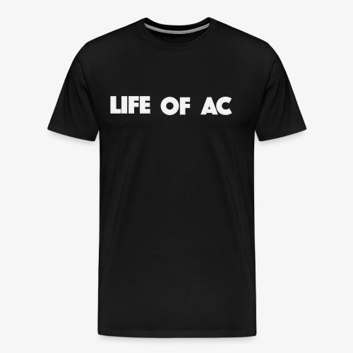 Classic Black | Life Of AC - Men's Premium T-Shirt