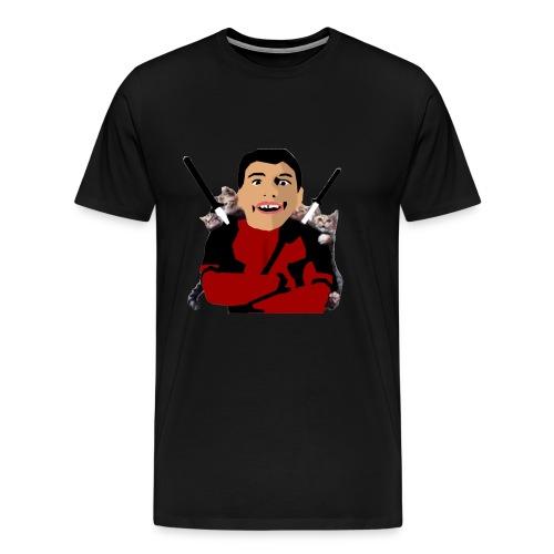 face reveal - Men's Premium T-Shirt