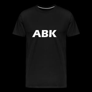 ABK White - Men's Premium T-Shirt