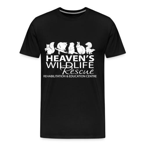 HWR White - Men's Premium T-Shirt