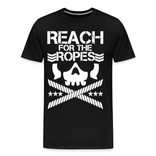 Reach for the Ropes Club - Men's Premium T-Shirt