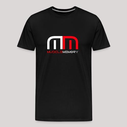 MuscleMemory Logo - Men's Premium T-Shirt