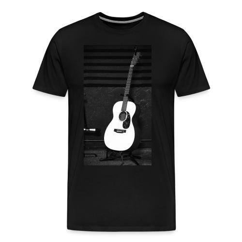 Accoustic Guitar - Men's Premium T-Shirt